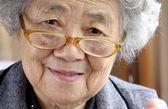 Happy grandmother — Stock Photo