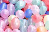 Colourful balloon on the celebration — Stockfoto