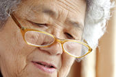 Portrait of a grandmother — Stock Photo