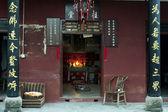 Ołtarz w świątyni buddyjskiej — Zdjęcie stockowe