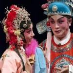 Постер, плакат: Chinese traditional opera actors