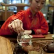 Chinese tea ceremony girl — Foto de stock #7773218