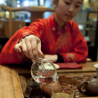 Stock Photo: Chinese tea ceremony girl