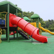 Stock Photo: Colorful children's play equipment