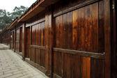 Edificios de una antigua ciudad tradicional chino — Foto de Stock