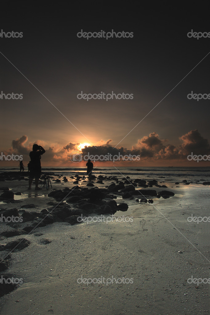 Beautiful seascape. Nature composition of sunrise. — Stock Photo #7663697