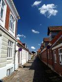 Häuser in Dänemark — Stock Photo