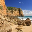 Steilküste der Algarve — Stock Photo