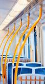 Inuti en metro vagn — Stockfoto