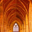Arched ceiling of church — Stock Photo #7526306