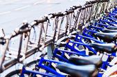 Biciclette città — Foto Stock