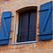 Window with shutters — Stockfoto #7650258