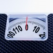 Stock Photo: Bathroom Scale close up