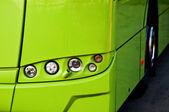 Buss headlight — Stock Photo