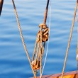 Yacht rigging - Foto Stock