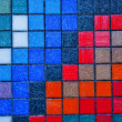 Colorful tiles - Stock Photo