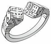 Blocs de l'anneau — Vecteur