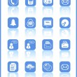 Royalty-Free Stock Vector Image: Office icons