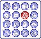 Office icons — Vetor de Stock