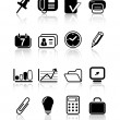 Office icons — Stock Vector #7700479
