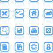 Browser icons — Stockvectorbeeld