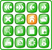 Browser icons — Stock Vector