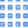 Royalty-Free Stock Vector Image: Wireless icons
