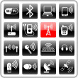 Stock Vector: Wireless icons