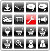 Website icons — Stock Vector