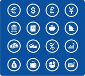 Money icons — Stock Vector