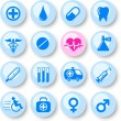 Medical icons — Stock Vector #7841256