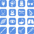 Stock Vector: Medical icons