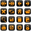 Browser icons — Stockvektor #7867311