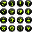 Signs icons - Stock Vector