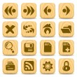 Stock Vector: Browser icons