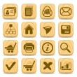 Stock Vector: Web icons
