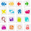 Browser icons - Stock Vector