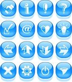 Signs icons — Stock Vector