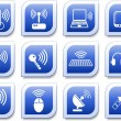 Wireless icons — Stock Vector #7953980