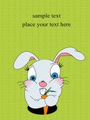 Easter card — 图库照片