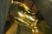 Reclining Buddha of Bangkok — Stock Photo