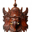Wood indonesian mask : Ganesh - Stock Photo