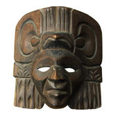 Wood central america mask — Stock Photo