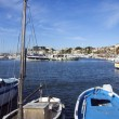 The port of Bandol in french riviera - Stock Photo