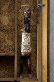 Indonesian statuette in a showcase — Zdjęcie stockowe