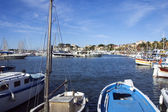 The port of Bandol in french riviera — Stock Photo