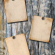 Stock Photo: Wood scrapbook background