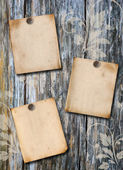 Wood scrapbook background — Stock Photo