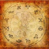 Zodiac background — Stock Photo