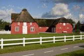 Old red house,Romo Denmark — Stock Photo